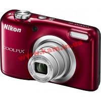 Цифровой фотоаппарат Nikon Coolpix A10 Red (VNA982E1)