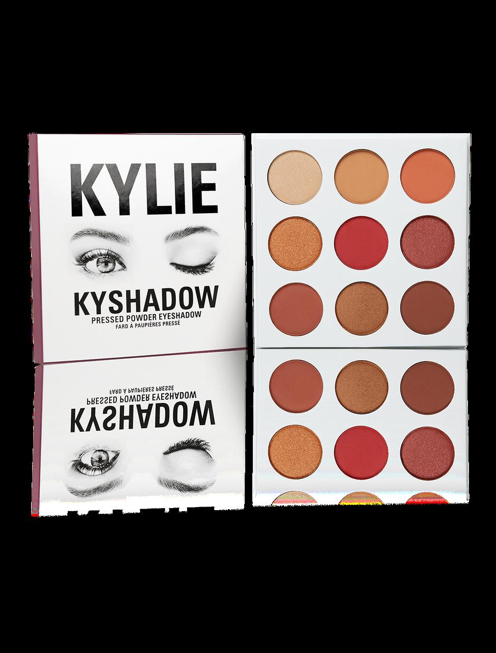 Палетка теней  Kylie Cosmetics - THE BURGUNDY Palette