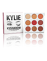 Палетка теней  Kylie Cosmetics - THE BURGUNDY Palette