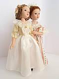 """Коллекционная кукла """"Дамы эпохи"""" в белом (18 см.), фото 6"""