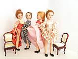 """Коллекционная кукла """"Дамы эпохи"""" в белом (18 см.), фото 8"""
