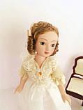 """Коллекционная кукла """"Дамы эпохи"""" в белом (18 см.), фото 2"""