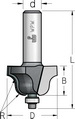 Фреза профильная калевочнострогальная с нижним подшипником WPW Израиль D35-B19-L59-d6