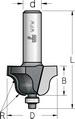 Фреза профильная калевочнострогальная с нижним подшипником WPW Израиль D25,4-B14,5-L53-d8