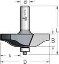 Фреза для обработки филенок WPW Израиль D85,7-B16-L75-d12