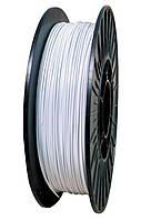 ABS АБС нить 0.5кг  1.75 мм пластик для 3d печати, белый