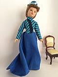 """Коллекционная кукла """"Дамы эпохи"""" в синем (18 см.), фото 2"""