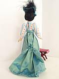 """Коллекционная кукла """"Дамы эпохи"""" в светло-голубом (18 см.), фото 2"""