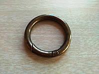 Кольцо -карабин Антик 34 мм