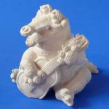 Статуэтка Крокодил с гитарой s01005-01