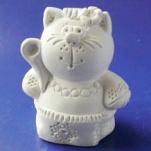 Статуэтка Кошка в вышиванке s01008-07