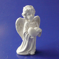 Статуэтка Ангел с сердцем (мал.) s01102-05