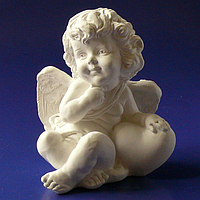 Статуэтка Ангел с сердцем (большой) s01102-06