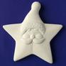 Барельєф Дід Мороз зірка b13005, фото 2