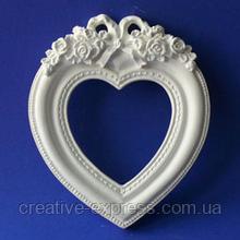 Рамка №3(сердце) d01003
