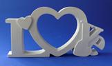 Рамка №6(love) d01006