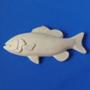 Барельеф Рыба №6(двойной плавник) b04006