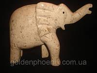 Слон яшма 6 дюймов, фото 1