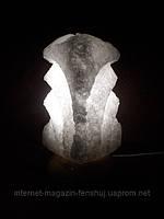 Соляная лампа - Квадрат резной