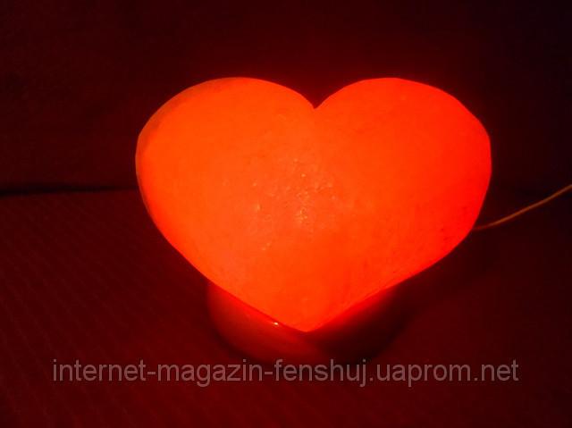 Соляная лампа - Сердце