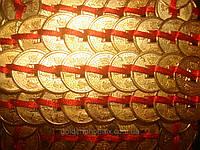 Монеты 32 связанные по 9, фото 1