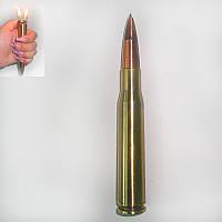 Зажигалка «Пуля» Двойное пламя — шариковая ручка.