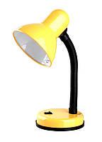 Настольная лампа Lemanso LMN075 жёлтая с выключателем