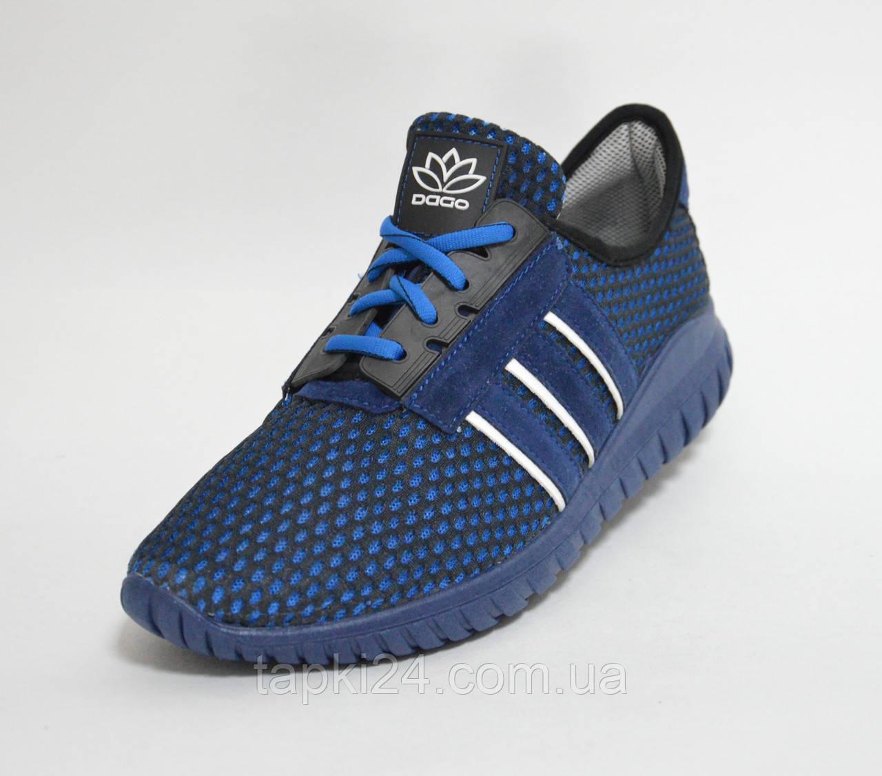 9d1854c3c Кроссовки сетка мужские синие Даго 9202 - Обувь оптом от производителя  tapki24 в Хмельницком