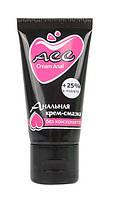 """Силиконовый анальный крем с эфирными маслами """"Creamanal АСС"""", 25 мл."""