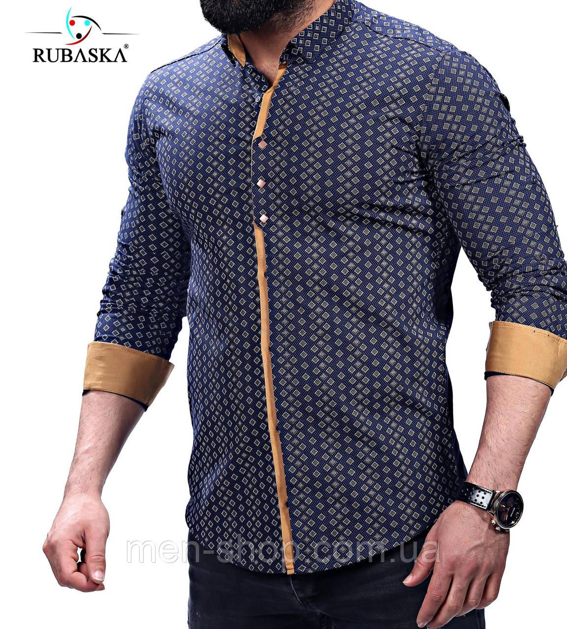 Рубашка мужская черного цвета