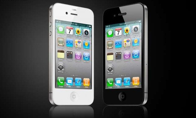 """Телефон iPhone 4S - Емкостной 3.5"""" - 1SIM + WiFi - 1:1 как ОРИГИНАЛ"""