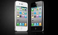 "Телефон iPhone 4S - Емкостной 3.5"" - 1SIM + WiFi - 1:1 как ОРИГИНАЛ, фото 1"