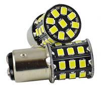 Светодиодные лампы LED P21/5W (33-SMD)(12V)(2835)(Белый), фото 1