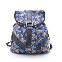 Рюкзак джинсовый городской молодежный L. Pigeon