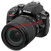 Цифровой фотоаппарат Nikon D3400 KIT AF-S DX 18-105 VR (VBA490K003)