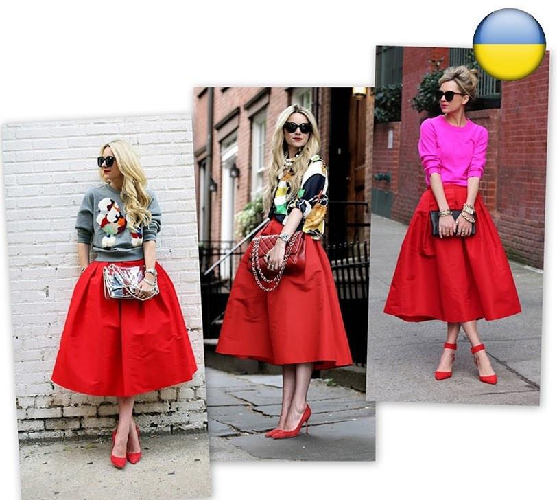 Женская юбка ниже колена,модная