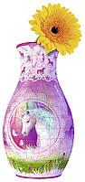 Объемный пазл 3D Ravensburger серия Girly Girl - Ваза Единорог