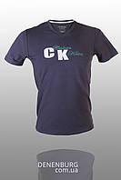 Футболка мужская CALVIN KLEIN CK1750 тёмно-серая