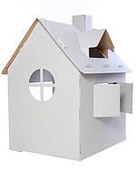 Картонный домик (3-х слойнный картон)
