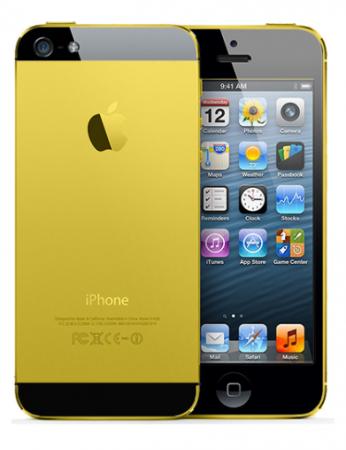 Телефон IPhone 5 GOLD 4Gb+WiFi