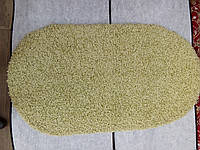Овальный коврик с длинным ворсом 70х130