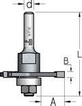 Оправка для пазовых дисковых фрез WPW Израиль D7,93-L70-d6