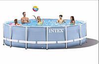 Бассейн каркасный 366х76см Intex