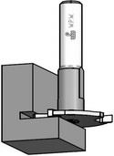 Фреза дисковая для пазования в четверти WPW Израиль D47,6-B6-L78-d12