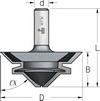 Фреза для прямого и углового сращивания WPW Израиль D67-B30-L69-Z2-d12