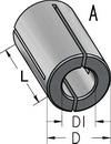 Втулка переходная разрезная WPW Израиль D6,35-L25