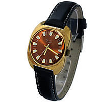 Poljot 17 jewels made in USSR позолоченные часы  -腕表 luch ultra slim