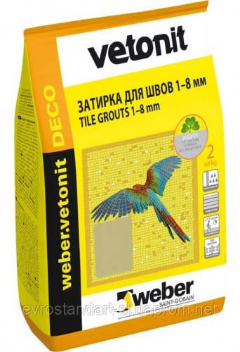 Затирка 9 слон  Veber Deco  2  кг