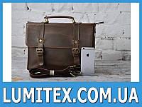 Стильный мужской портфель - сумка в рэтро стиле