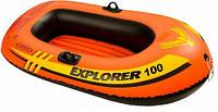 Intex 58329 Надувная лодка детская Explorer 100